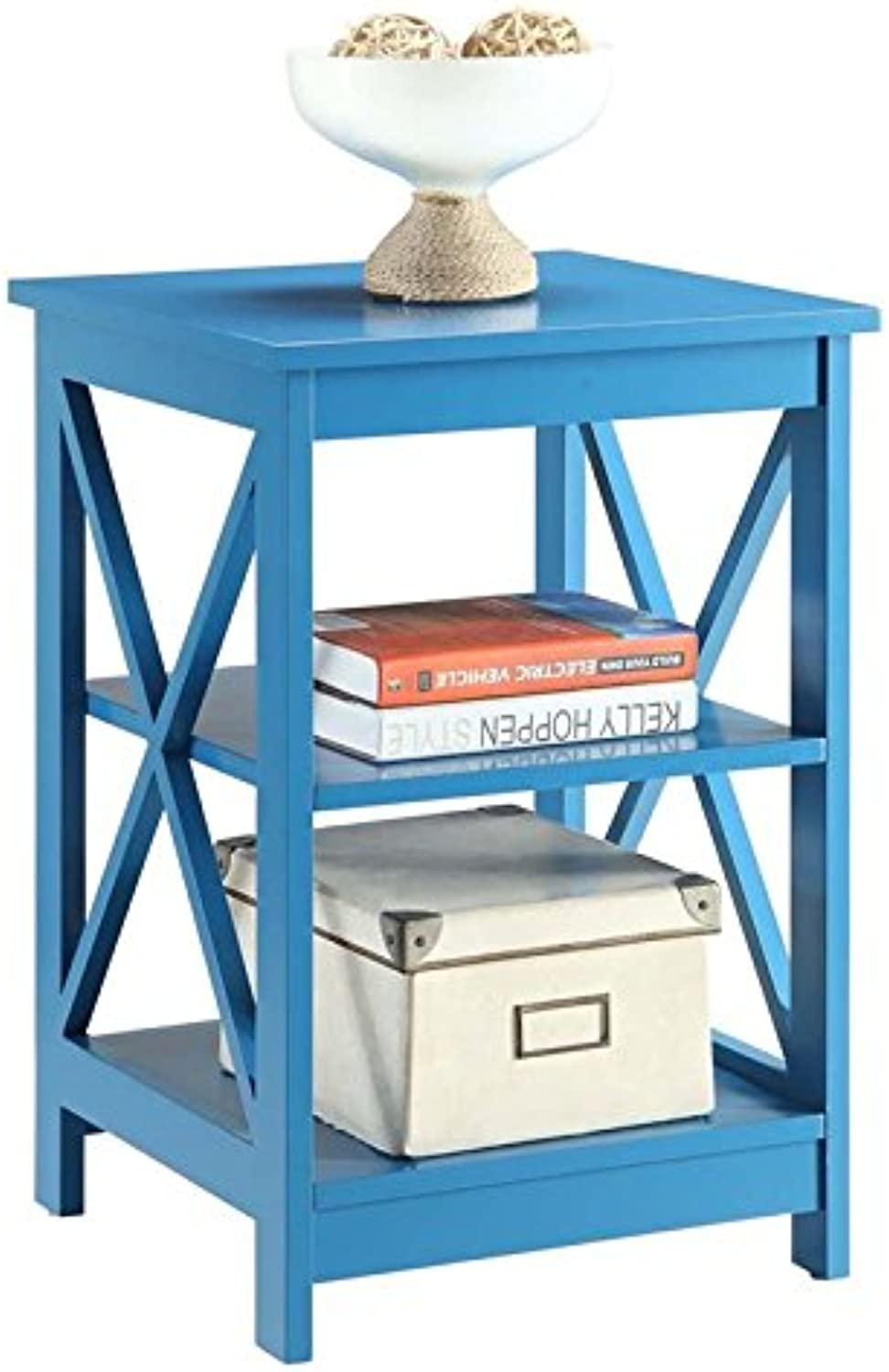 Pemberly Row End Table in bluee