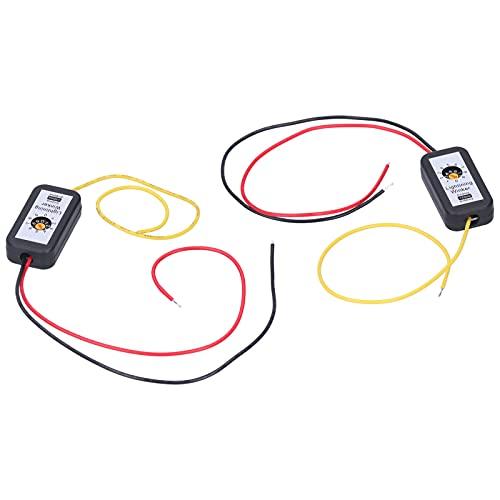 WANZSC Módulo intermitente de luz trasera, luces traseras LED Adaptador de señal de giro dinámica Kits de módulo intermitente para Seat Leon MK3 5F 2013-2020 para bombillas automotrices