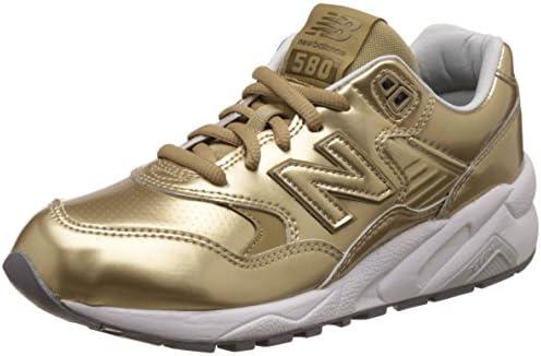Amazon.com   New Balance Women 580 WRT580MG (Gold/White)   Running