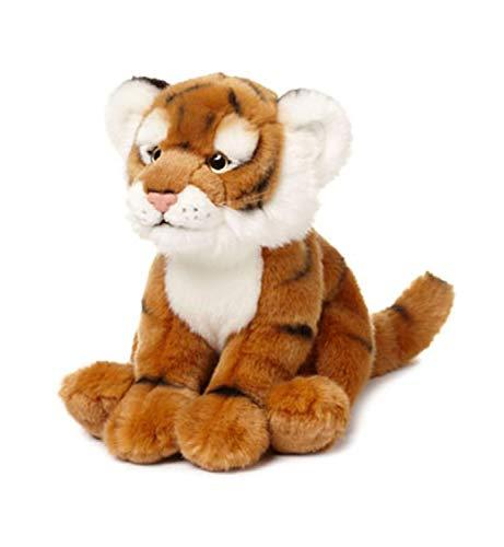 WWF WWF00606 Plüsch Tiger, realistisch gestaltetes Plüschtier, ca. 23 cm groß und wunderbar weich