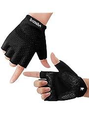 Fietshandschoenen, Vingerloos, Ademend, Antislip, Schokabsorberend, Voor MTB, Fitness, Dames En Heren