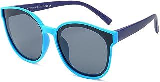 Gosunfly - Gafas para niños, gafas de sol polarizadas de dibujos animados de sombrilla para niños pequeños de mar azul