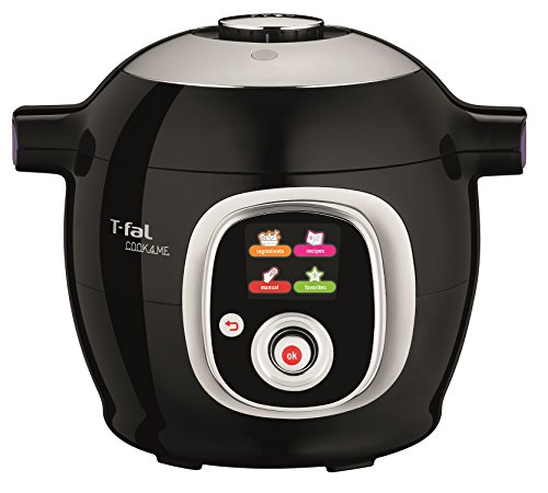 T-fal CY7018CA Cook4me 6L All-In-One Multicooker, Black