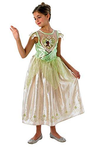 Rubies - Disfraz oficial de Tiana, para nias de 9 a 10 aos.