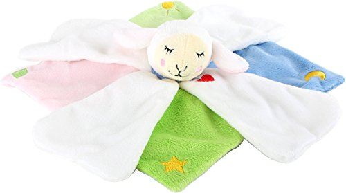 Legler Lotta Doudou Multicolore Motif Mouton