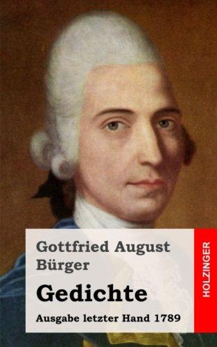 Gedichte: Ausgabe letzter Hand 1789