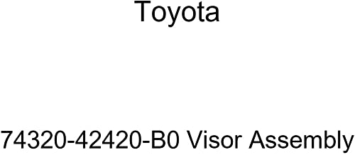 TOYOTA Genuine 74320-42420-B0 Visor Assembly