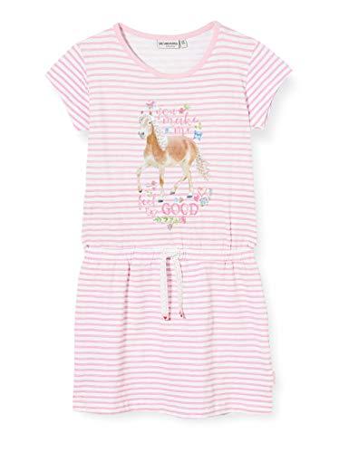 Salt & Pepper Mädchen 03113273 Kleid, Rosa (Soft Pink 824), 128 (Herstellergröße: 128/134)
