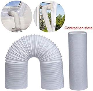 MDWK Conducto de la Manguera de ventilaci¨®n del Tubo de Escape del Aire Acondicionado Flexible de 1.5M / 2M
