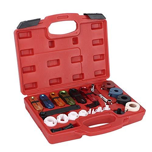 22 unids/set de manguera de aire acondicionado para coche, kit de herramientas de desconexión de tubería de combustible de aceite, removedor de tubería de combustible para reparación de vehícu