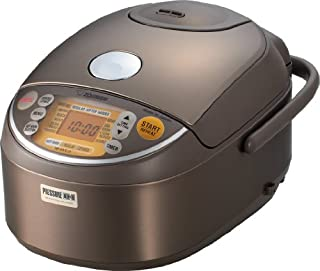 ZOJIRUSHI NP-NVC10 Induction Heating Pressure Cooker (Uncooked) and Warmer, 5.5 Cups/1-Liter (B009QYC60S)   Amazon price tracker / tracking, Amazon price history charts, Amazon price watches, Amazon price drop alerts