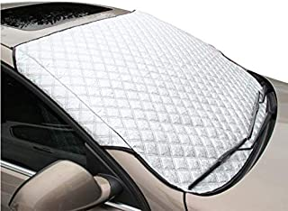 gjsgfhgg Auto Windschutzscheibe, Sonnenschutz, UV Schutz, hält das Auto kühl Windschutzscheibe, Staubschutz, Frost, Schnee, EIS Abdeckung bei jedem Wetter groß