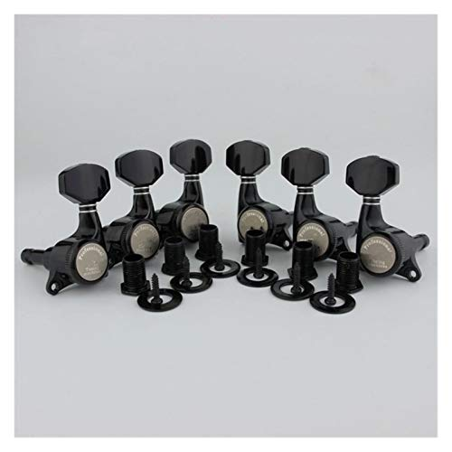 Afinadores de bloqueo de guitarra/versión mejorada de guitarra eléctrica cabezales sintonizadores de cuerdas de bloqueo para LP SG TL (color: PRO 3R3L)