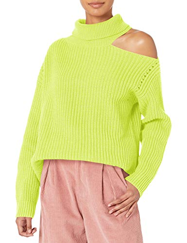 Asymmetric cut out shoulder Ribbed knit special size type: standard