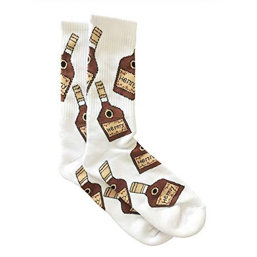 Henny Bottle Socks (White, 1)