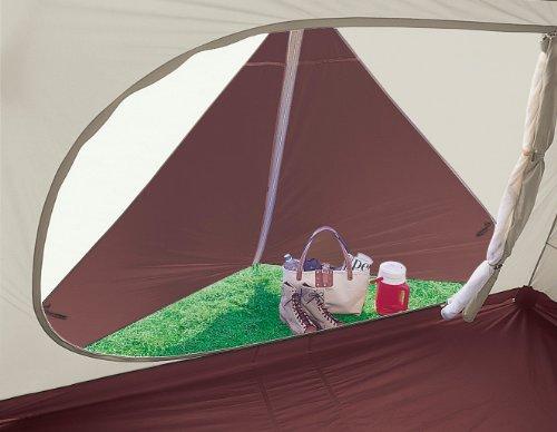 キャプテンスタッグ(CAPTAINSTAG)テント【6人用】エクスギアアルミファミリージオドーム6UVキャリーバッグ付UA-1