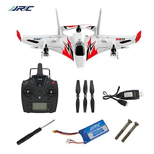 HSKB JJR / C M02 Segelflugzeug, Brushless 6-Achsen Gyro Kunstflug RC Elektro Flugzeug RTF 3D / 6G Modus RC Ferngesteuertes Modellflugzeug Outdoor Flieger Spielzeug (Rot)