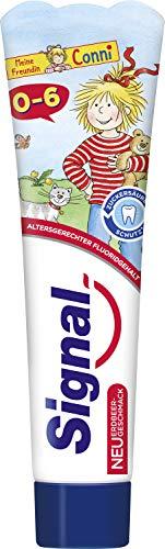 Signal Zahnpasta 0-6 Jahre mit Erdbeergeschmack (1 x 50 ml)