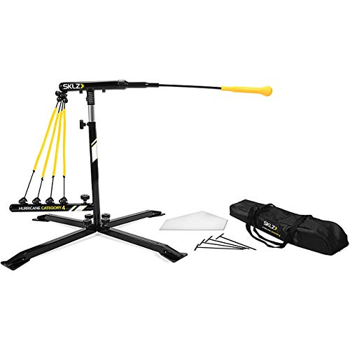 SKLZ Hurricane Category 4 Batting Swing Trainer for Baseball and Softball (Renewed)