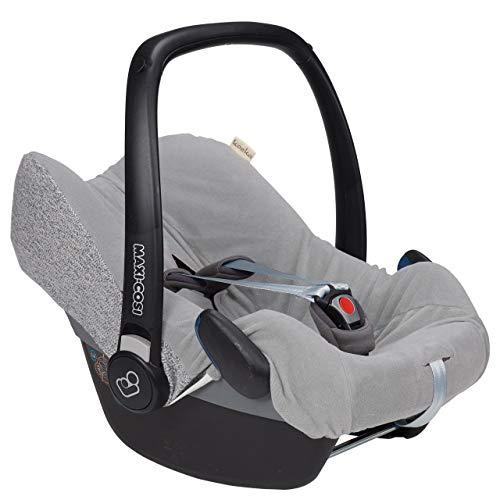 Koeka Baby Autositzbezug Für 3/5-punktegurt Vigo Sparkle Grey One