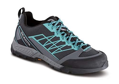Scarpa Schuhe Epic Lite OD Women Größe 38 Dark Gray/Aqua