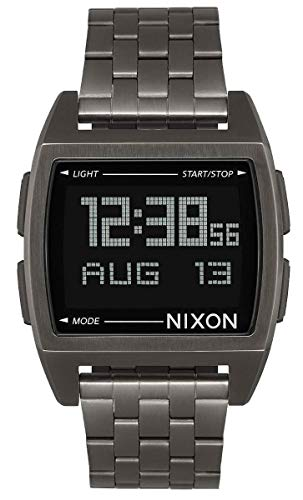 Nixon - Base 38 mm All Gunmetal - Armbanduhr Herren