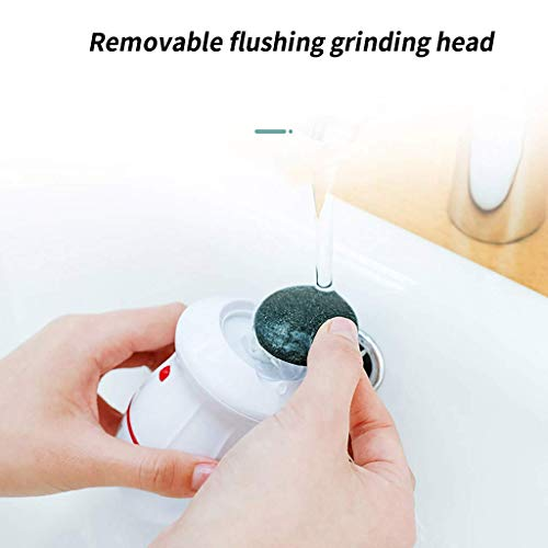 CRRD Electric Vacuum Adsorption Foot Grinder Portable Electric Pedicure Tools Foot Care Tool Skin Callus Remover Foot Polisher USB Foot File Pedicure Tools