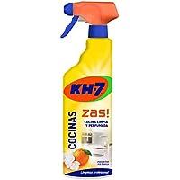 KH-7 | Producto de Limpieza para la Cocina | 3 Recipientes de 750 ml  | Total: 2250 ml | Aroma, brillo y rapidez en la limpieza de la cocina | Cómodo y práctico de aplicar