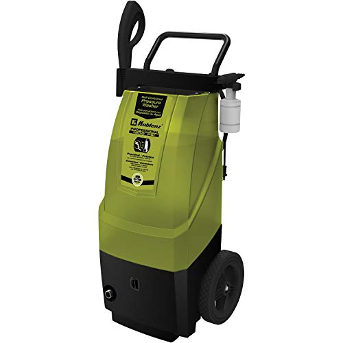 Koblenz HLT 370 1900 PSI Electric Pressure Washer, Green/Black