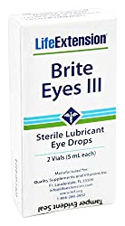 powerful Life extension – Bright Eyes III Lubricated sterile eye drops – 2 bottles