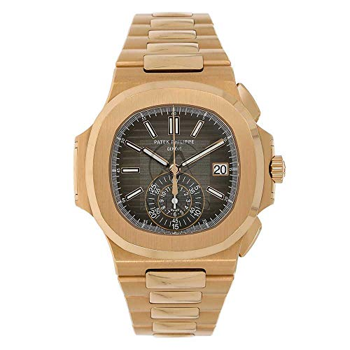 PATEK PHILIPPE NAUTILUS 40MM ROSE GOLD MEN