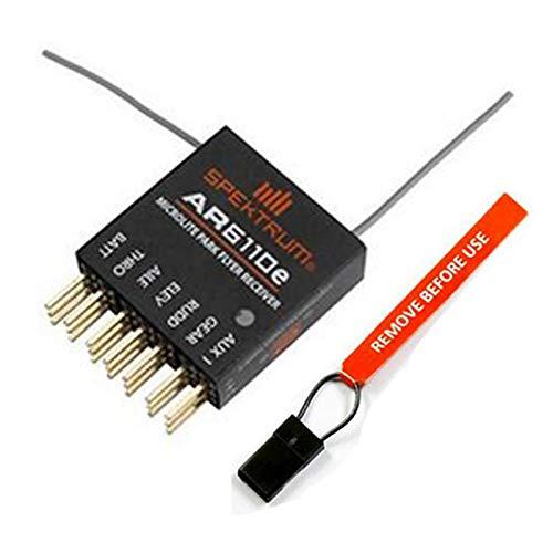 Willowhe Mini-Spektrum AR6110E DSM2MicroLite 6-Kanal Empfänger für Flugmodelle mit Endpins