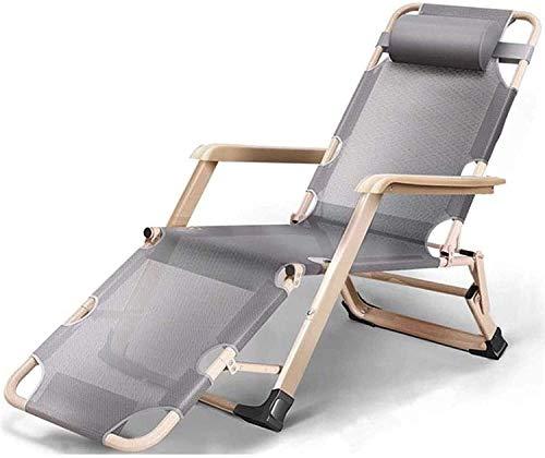 Leichte Sonnenliege Klappbare Gartenstühle Klappbare Liegestühle, Gartenpatio Stuhl Liege Schwerelosigkeitsstühle Einzelbüro Relax Sonnenliege Bett
