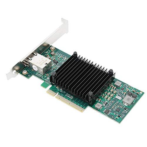 Shipenophy Netzwerkkarte Branchenführender robuster Ethernet-Server Kompakte stabile 10-Gigabit-Architektur Hochleistungskomfort für Computer-PCs