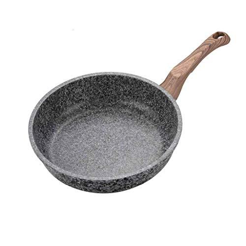 IUYJVR Sartén de aleación de Aluminio: sartén de un Solo Mango, sartén Antiadherente, Olla de cocción, Utilizada en la Cocina