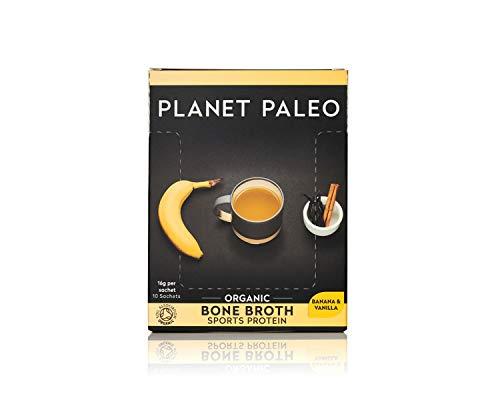 Planet Paleo Organic Vanilla and Banana Sports Protein Bone Broth Powder (1...