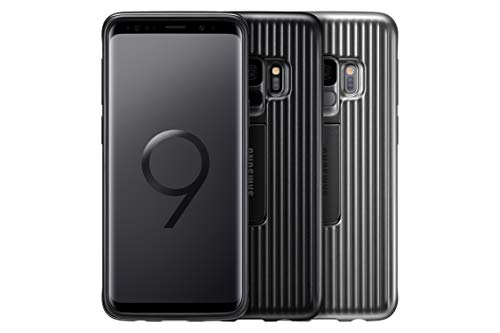Samsung Galaxy S9 Protective Standing Cover, Argento
