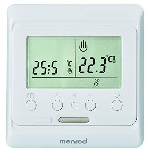 menred E51.716 Thermostat, Weiß