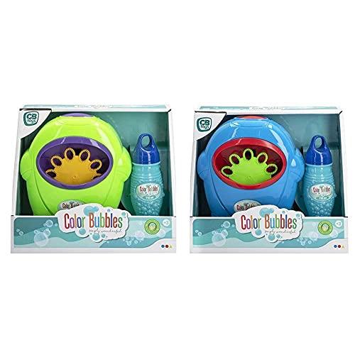ColorBaby-49256 Máquina Pompas de jabón con pompero 21x18, Multicolor (49256)