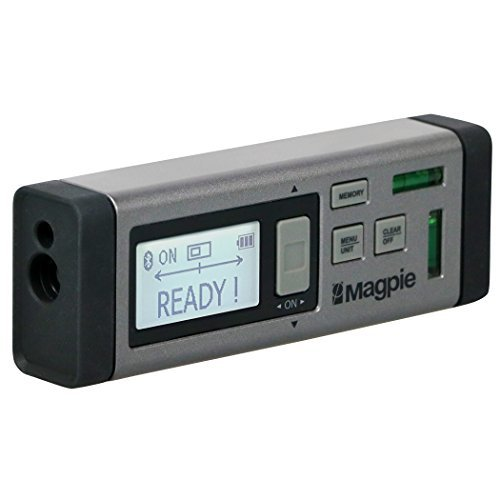 Magpie VH - 80 VH 80 rangefinder Meter at Both Ends Distance Measuring Instrument 80 m Electronic Major Angle Area Volume Light Weight Compact with Original Japanese or Korean Instructions