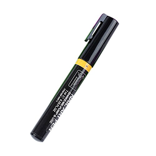 Stylo ongles Precis - - Nail Art Pen - jaune n°4 - 7 ml encre liquide vernis a ongles scrapbooking manucure