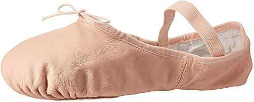 Bloch Women's Dance Dansoft II Leather Split Sole Ballet Shoe/Slipper, Pink, 4 Narrow
