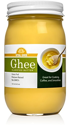 Vital Ghee Brand Grass Fed Organic Ghee