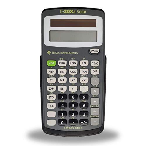 Texas Instruments TI-30XA Solar School Edition Calculator