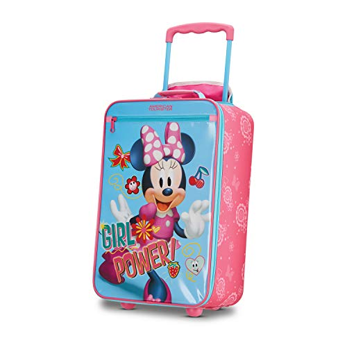 American Tourister Kids' Disney Softside Upright Luggage, Minnie Mouse 2, Carry-On 18-Inch