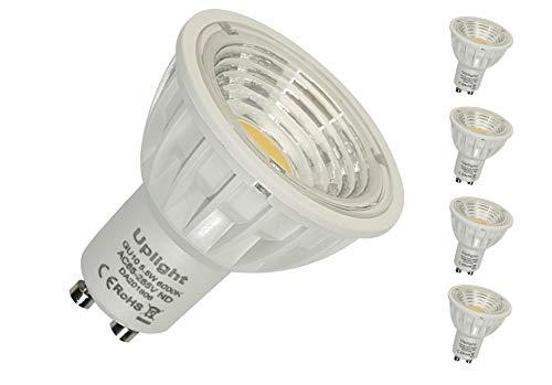 Spot LED  GU10 Ampoule lumière 7W =80W Halogene Blanc Chaud 120°garantie 3 ans