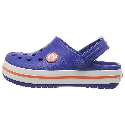 Sandália Crocband Kids, Crocs, Criança Unissex, Cerulean Blue, 24/25