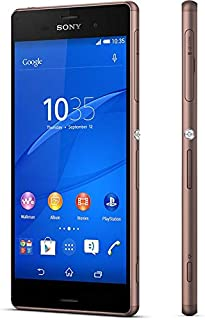 Sony Xperia Z3 Dual SIM (16GB, Android OS, 4G LTE + Wifi, Copper)