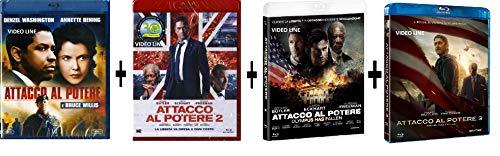 Blu Ray Attacco al Potere - Quadrilogia (4 Film Blu Ray) Edizione Italiana