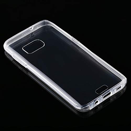 YDYX AYDD para Samsung Galaxy S7 Edge PC + TPU Funda Transparente ultravinada de Doble Cara.